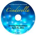 DVD - AMDE 2015 Cinderella - Evening