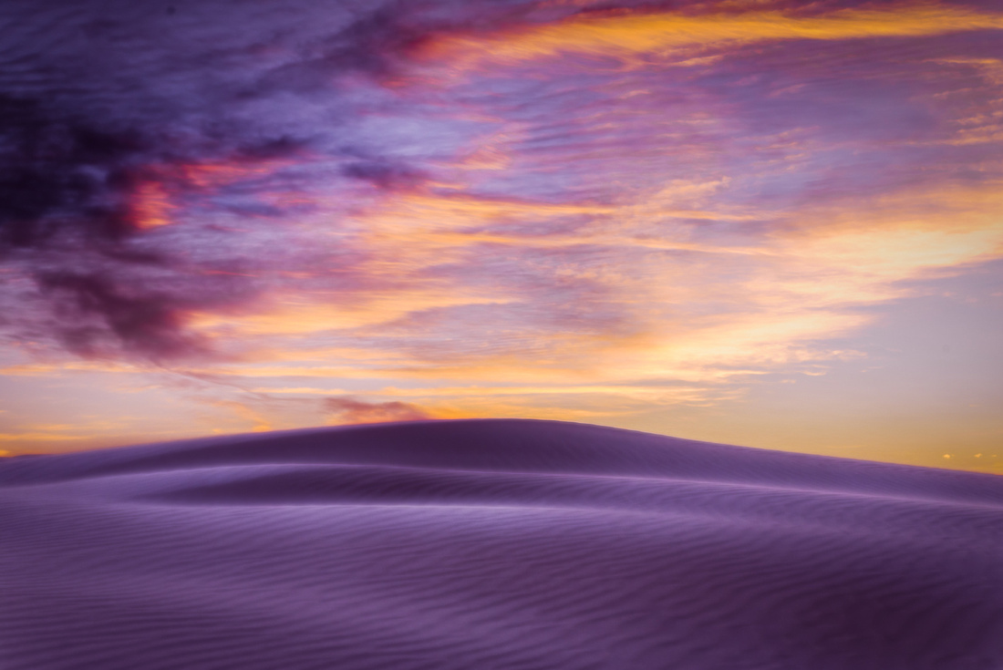 The Dunes Spoke To Me...