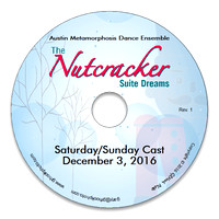 DVD - AMDE 2016 The Nutcracker: Suite Dreams - Sat/Sun Cast